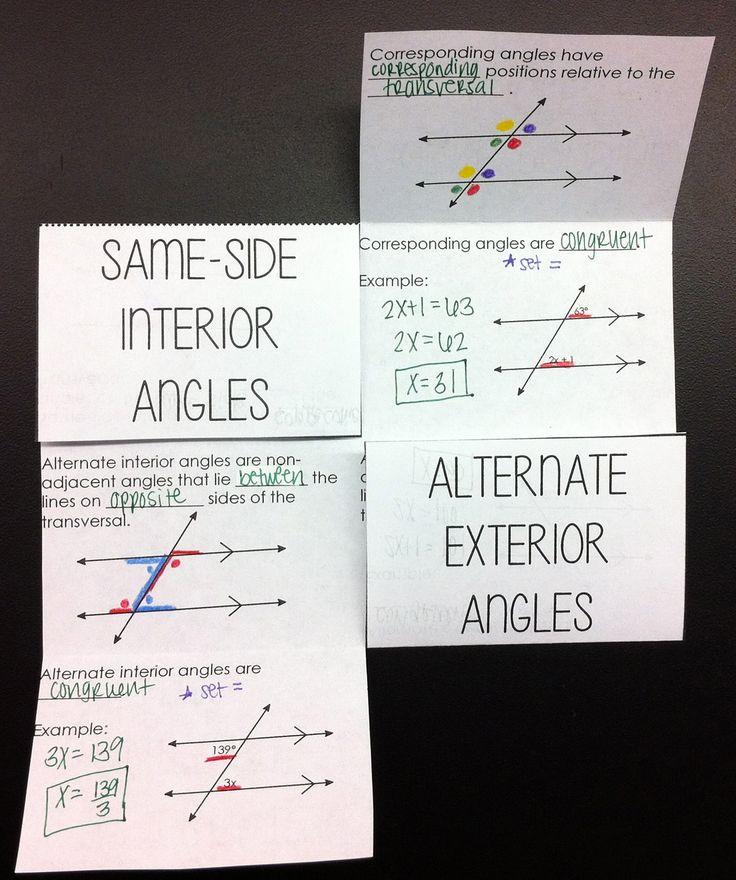 132 best Math Foldables images on Pinterest | High school maths ...