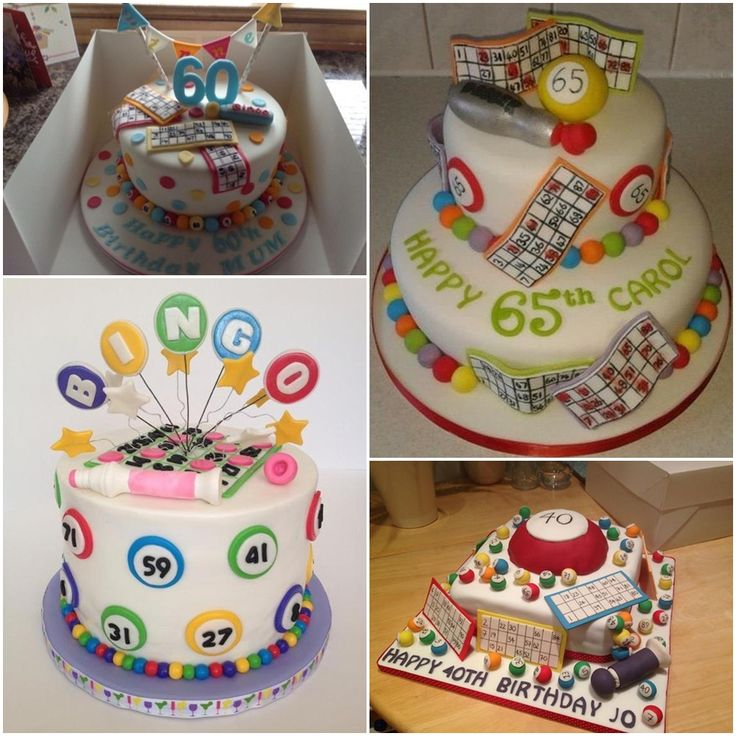 Bingo Party Cakes Ideas