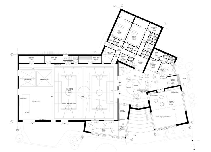 The new urban school mixed use sports complex proposal effekt rubow ground floor plan for Sports complex planning design