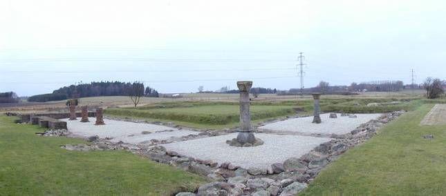 Ruiner - Æbelholt Kloster - Nationalmuseet