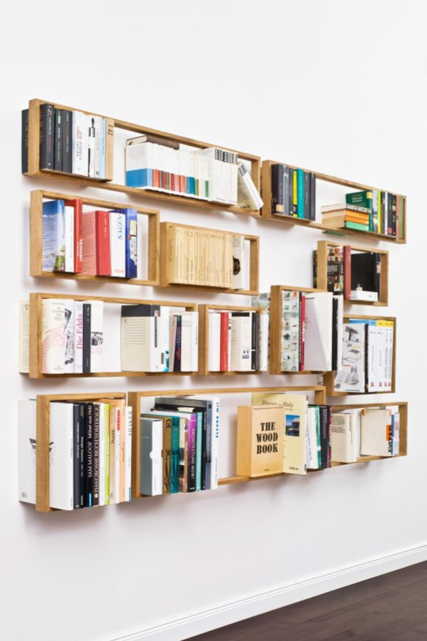 Die besten 25+ Bücher wandregal Ideen auf Pinterest Buchregale - coole buchstutzen kreativ dekorativ stabil