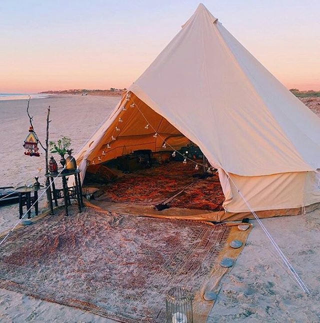 Gl&ing on the beach & 47 best Camping u0026 Glamping Ideas images on Pinterest | Wedding ...