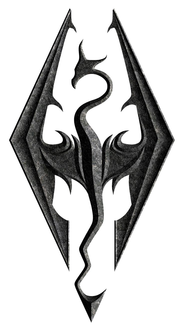 skyrim dragon symbol - Google Search