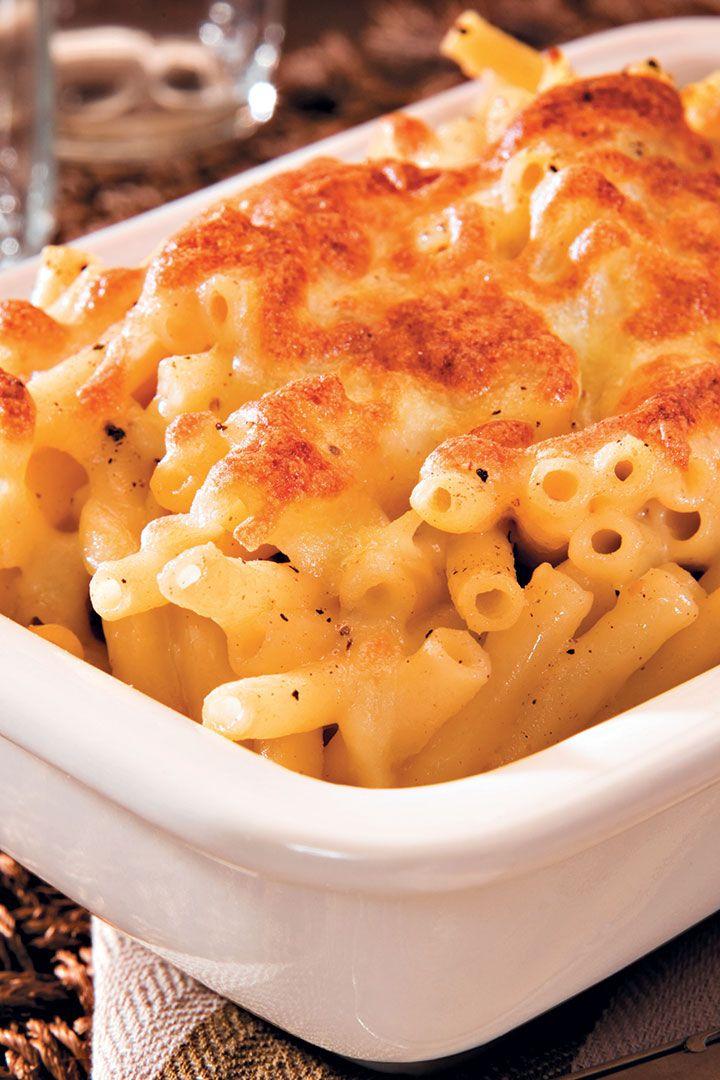 Cheat's macaroni and cheese