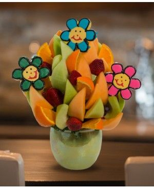 To Brighten your Day Blossom scent free fruit bouquet are great for all occasions and make great gifts ideas or decorations from a proud Canadian Company. Great alternative to traditional flowers or fruit baskets