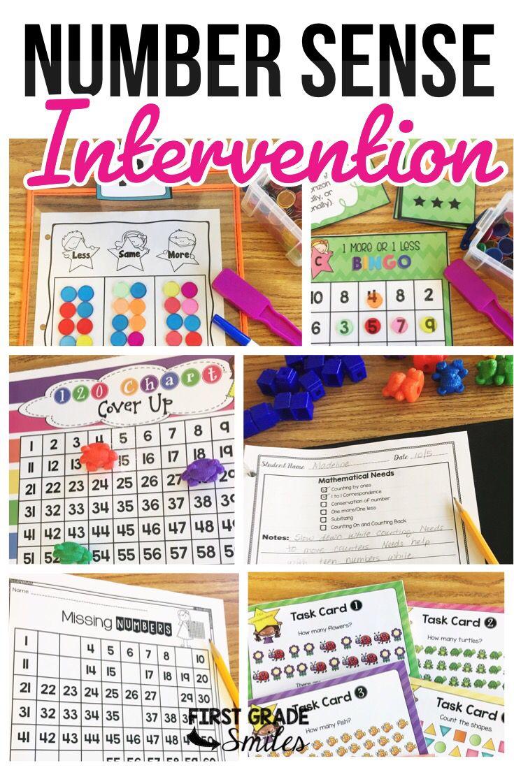 Math Intervention Rti For Number Sense Math Intervention Activities Kindergarten Math Activities Math Intervention Kindergarten [ 1102 x 735 Pixel ]