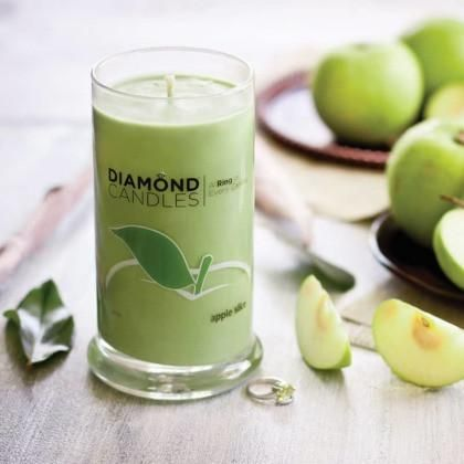 Apple Slice Ring Candle – Diamond Candles