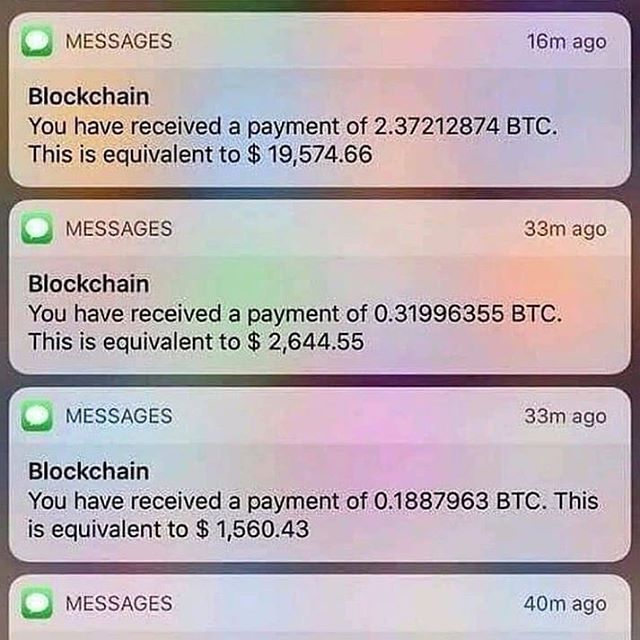 if you invested in equivalent to cryptocurrency