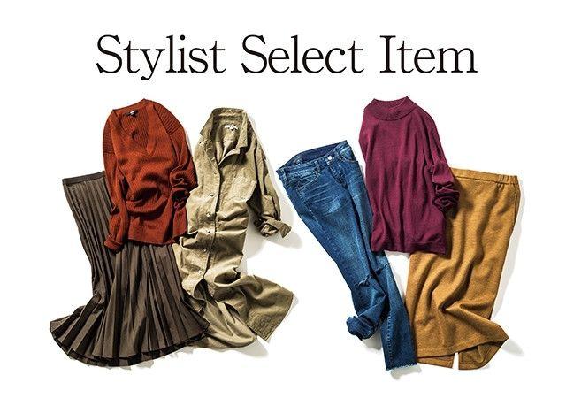 リアルなスタイリングで働く女性に人気のスタイリスト、楠 玲子さんと川上 さやかさんが秋の新作からマストバイな〝it〟アイテムをピックアップ。スタイリストならではの目利きでセレクトしたアイテムを使ったスタイリングは、秋のおしゃれ計画の参考になること間違いなしです!Reiko's Select Item 01-ハイウエストプリーツミディスカート-プリーツスカートは、素材もシルエットも秋仕様にニュアンス...