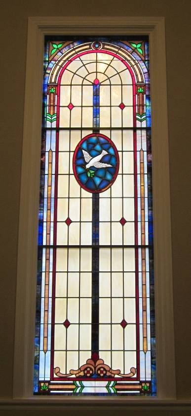 Stained Glass Windows at Faithway Baptist Church in Greensboro, NC