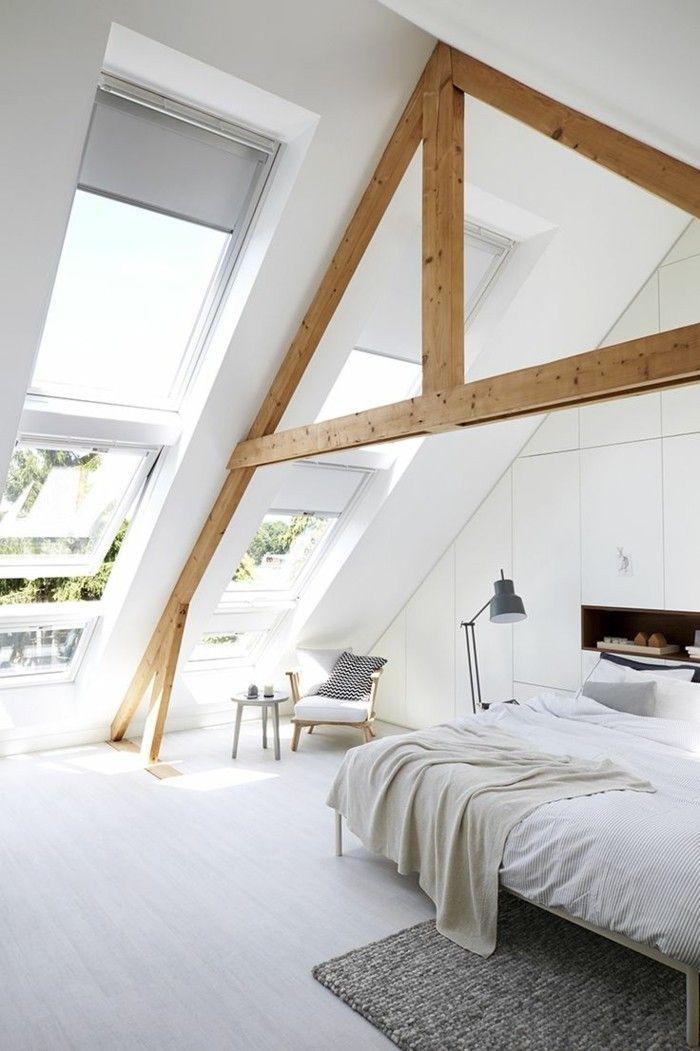 Wohlfhlklima Ausgestattet Sonnenschutz Dachwohnung Dachfenster