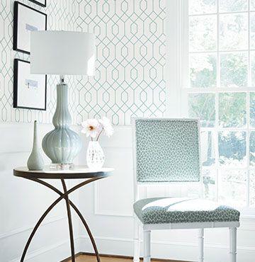 Elegant tapet för hall eller egentligen varsomhelst för den är så underbar. engelskatapetmagasinet.se