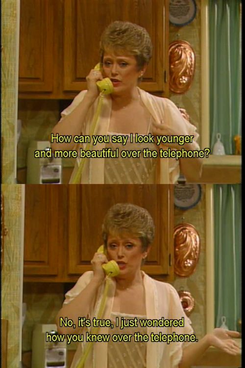 The Golden Girls. Blanche.