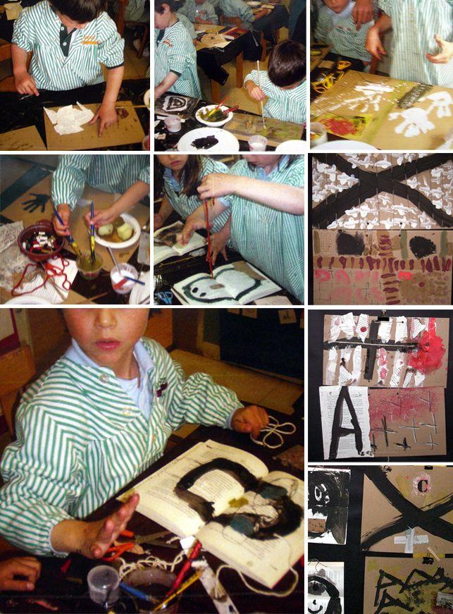 Tàpies al Saint Paul's El joc de saber mirar http://manualscanigo.blogspot.com.es/2012/06/tapies-al-saint-pauls.html