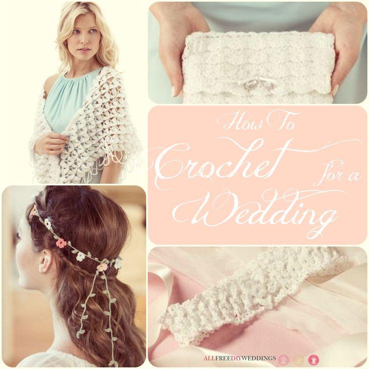45 Free Crochet Patterns: How to Crochet for a Wedding   AllFreeDIYWeddings.com