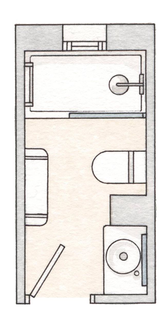 Tinas De Baño Ala Medida:Más de 1000 ideas sobre Planos De Casas Pequeños en Pinterest