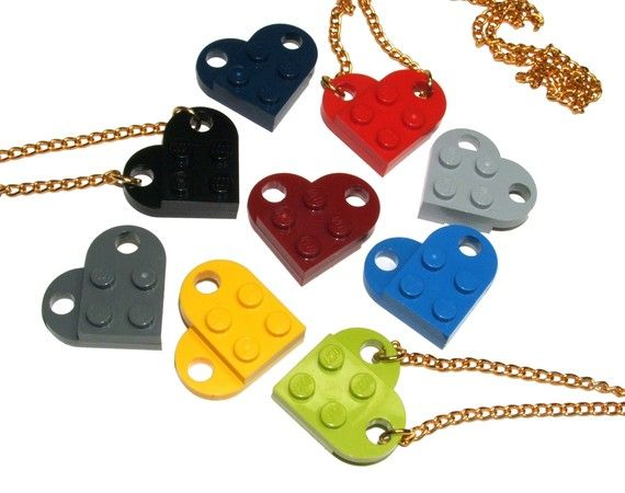Lego hearts. Where can you even buy these in all these colors and why can't I find where that is?!