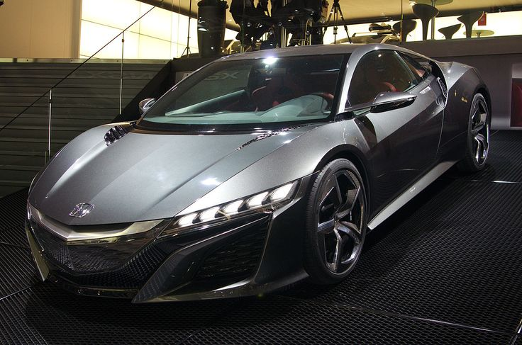 Awesome 2015 Acura Nsx Black