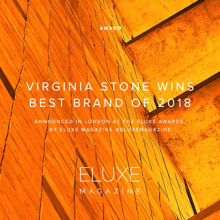 We are incredibly excited and honored to have been selected as the Best Brand of 2018, by Eluxe Magazine.  #VirginiaStone #fashionmagazine #sustainablefashion