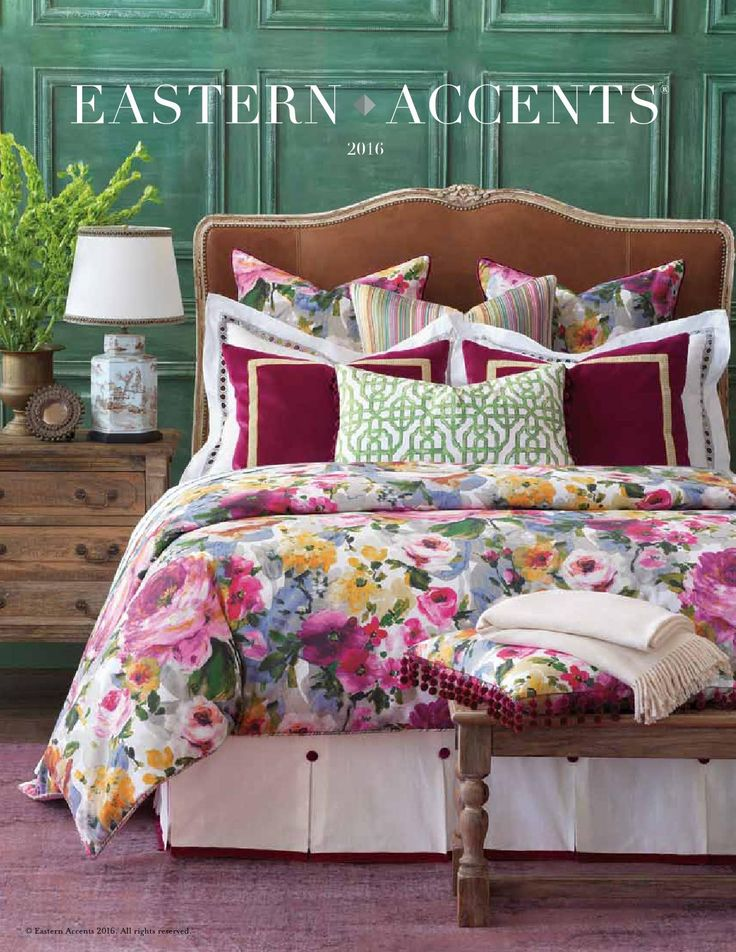 eastern accents designer bedding collection