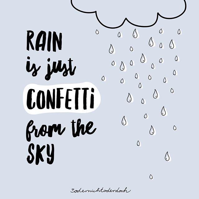 Ein bisschen Regen kann einem doch nichts anhaben, oder? 😄 Seid ihr heute unterwegs oder lasst ihr euren Tag gemütlich in den heimischen 4 Wänden…