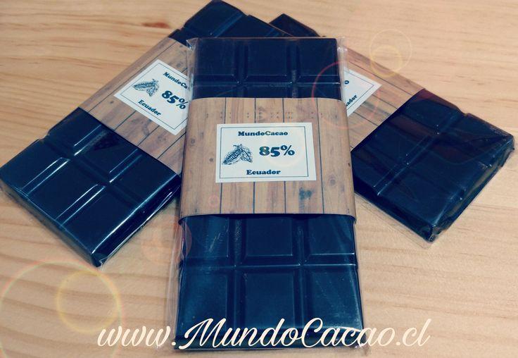 Chocolate 85% cacao de Ecuador