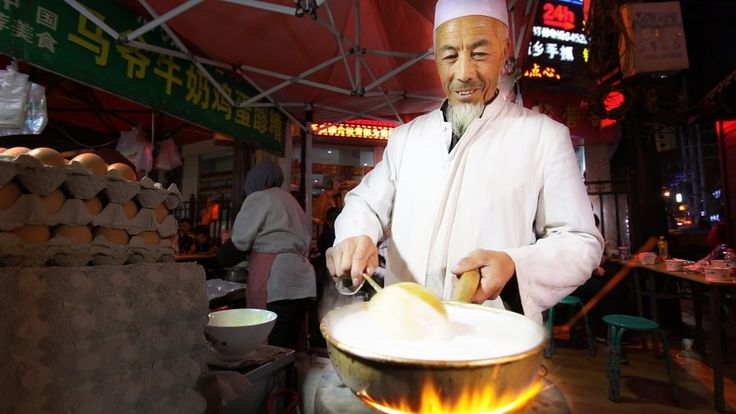 Muslim Chinese Street Food Tour in Islamic China | BEST Halal Food and I...