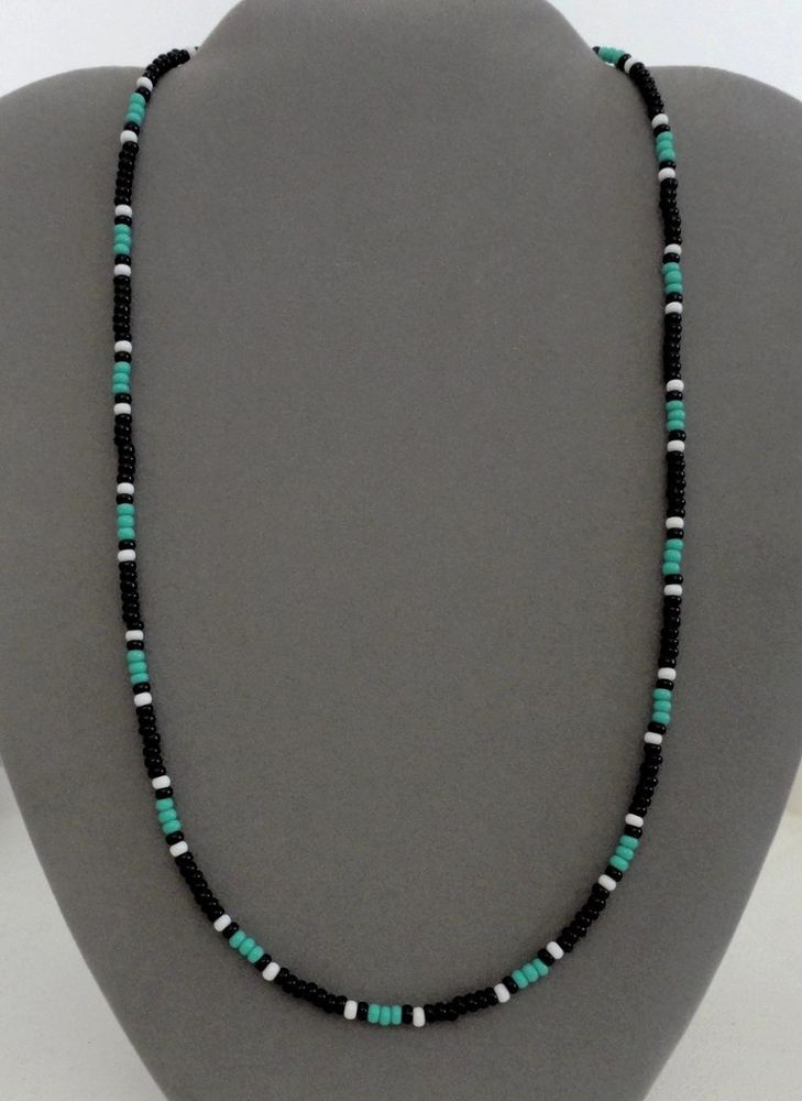 Black,Turquoise Mens,Women Necklace Native American All in Jewelry & Watches, Ethnic, Regional & Tribal, Native American | eBay