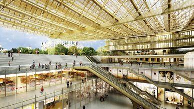 La Canopée des Halles, une porte vers le futur