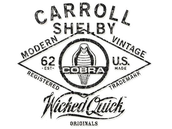 Carroll Shelby Collection : Artwork & Print Production on Behance