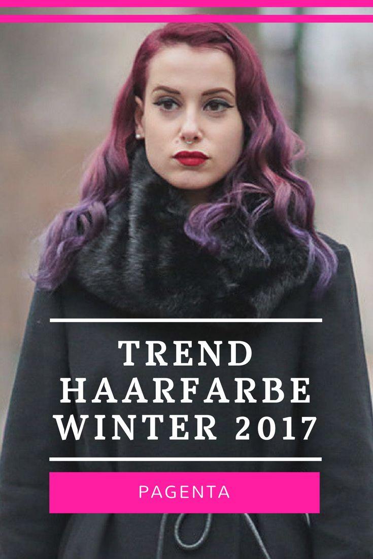 Das ist die Trend Haarfarbe im Winter 2017 #haircolor #frisuren #haarfarben