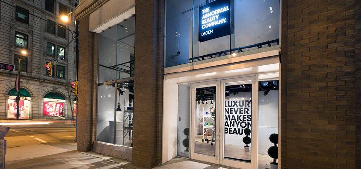 DECIEM howe st Beauty companies, Vancouver