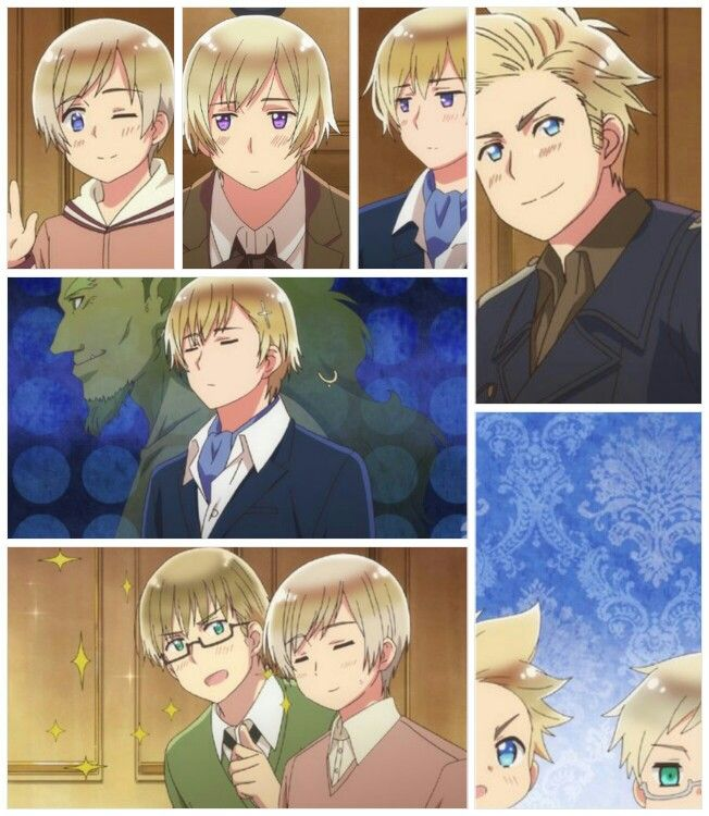Hetalia anime!>> I know that's Estonia but we'll pretend it's just the Nordics.