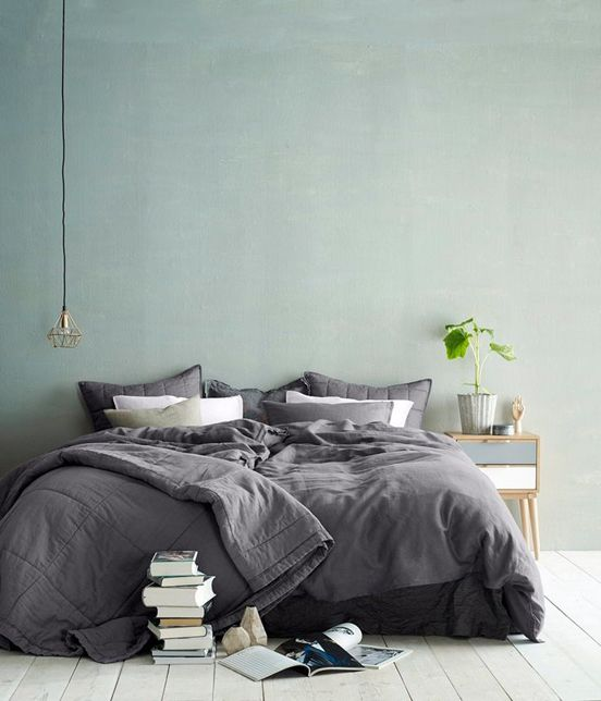 In Lust with…Grey Bed Linen