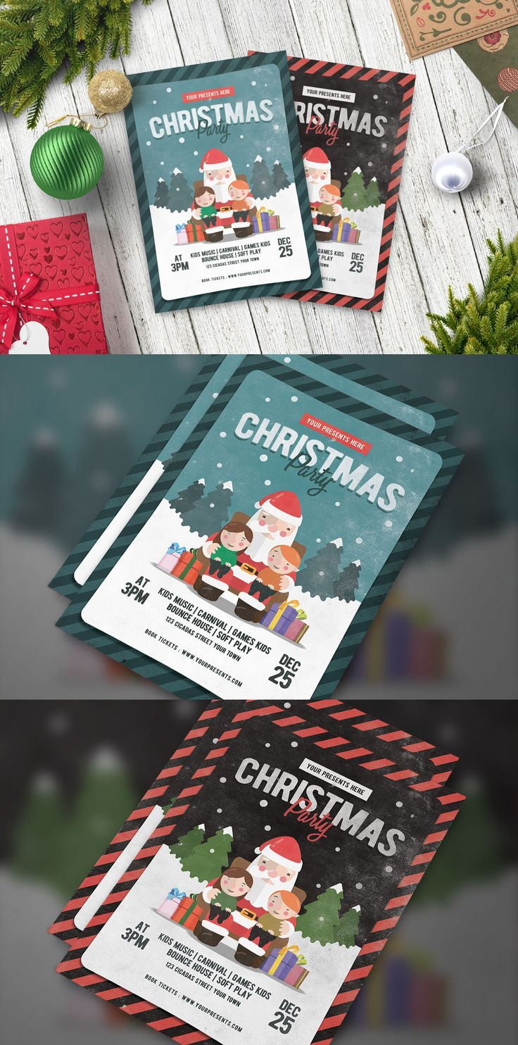 best images about christmas flyer templates vintage christmas party flyer template psd