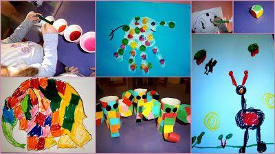 Προσχολική Παρεούλα : Χρώματα παντού ... ( με αφορμή το παραμύθι του Έλμ...