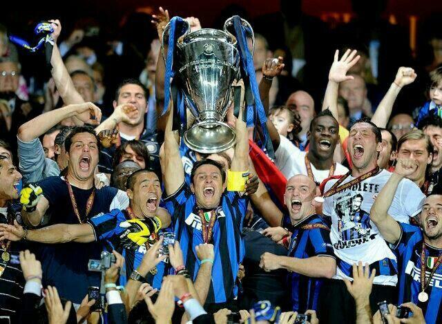 INTERNAZIONALE F.C. 2010 Campione d'Europa per Club