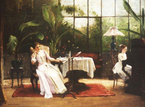 Munkácsy Mihály -zongoralecke /1844-1900/