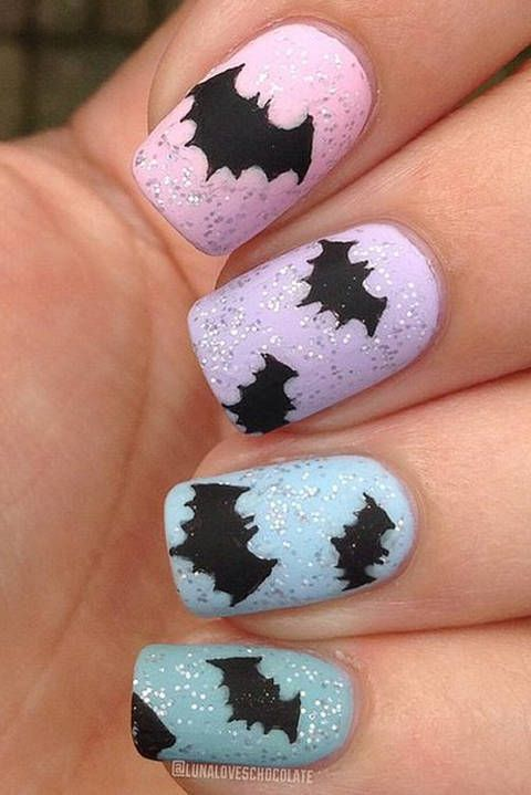 42 halloween inspired nail looks that are cute af