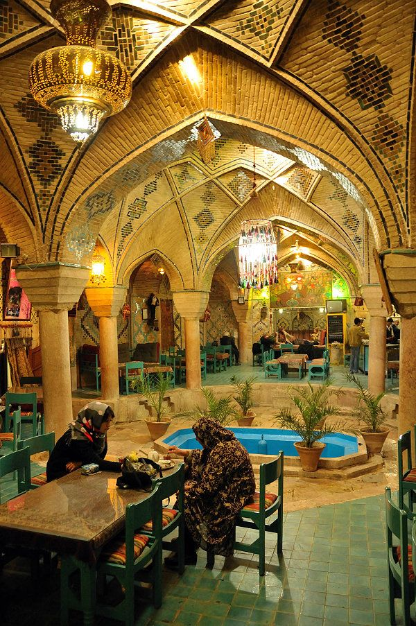 Tea House-Kerman, Iran #irantravelingcenter #iranvisa #mustseeiran