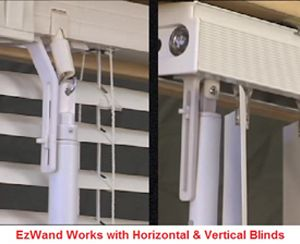 motorized vertical blinds insulated ez wand works on your existing horizontal and vertical window blinds that adjust with wand easywand easy wand ezwand home decor remodelu2026
