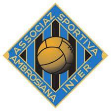 AC AMBROSIANA INTER   - milano  old badge used year 1930s