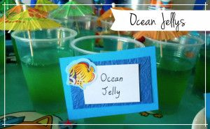 Ocean Jelly - sea themed party food