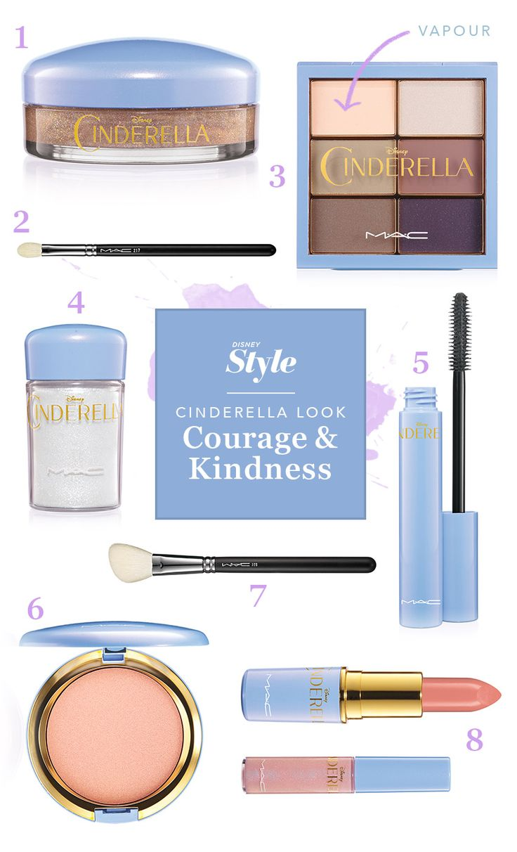 Two Looks to Get with the M.A.C. X Cinderella Collection | Disney Style | Beauty