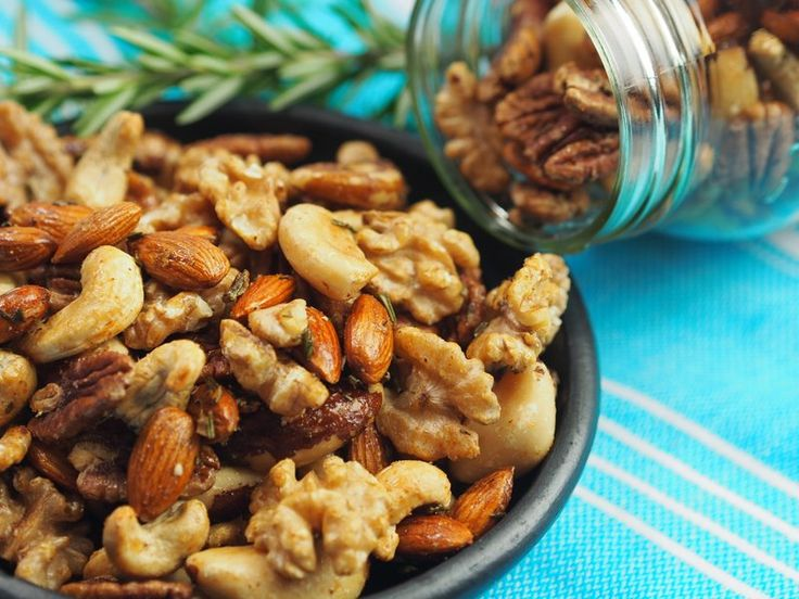 Spiced Roasted Nuts