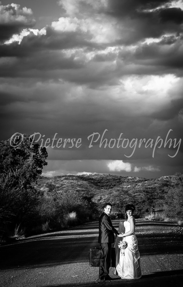 Wedding Photos taken by Pieterse Photography