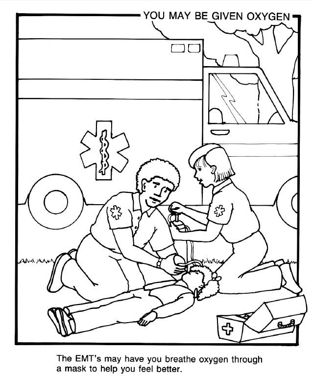 paramedics coloring pages for kids - photo#32