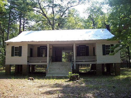 Old alexander house by farther along via flickr very for Dogtrot modular homes