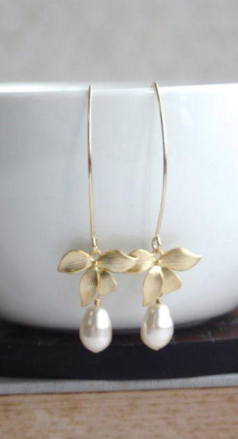 Gorgeous pearl drops