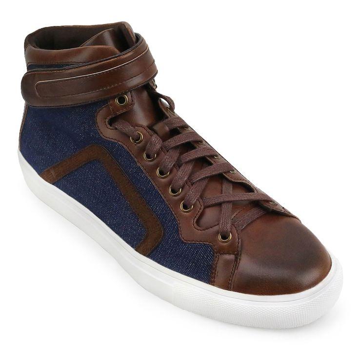 XRay Ditchman Men's High Top Sneakers, Size: medium (10.5), Brown